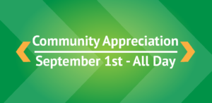Community Appreciation Web Graphic