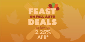 Feast on Fall Auto Deals