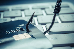 """Don't get hooked by a """"phishing"""" scheme."""