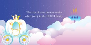 Win a trip to Walt Disney World® by becoming a member of HHCU!