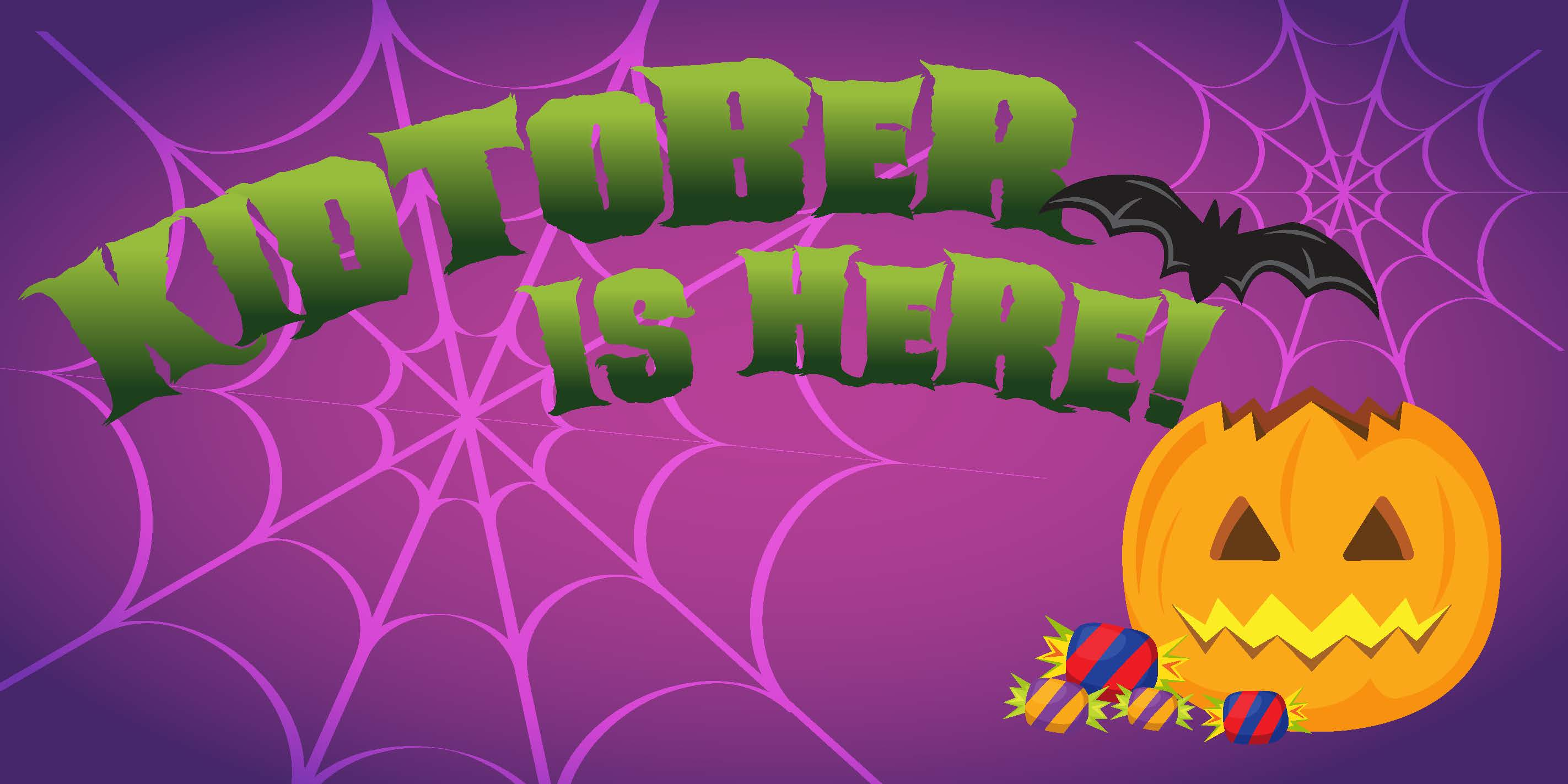 Kidtober Web Graphic