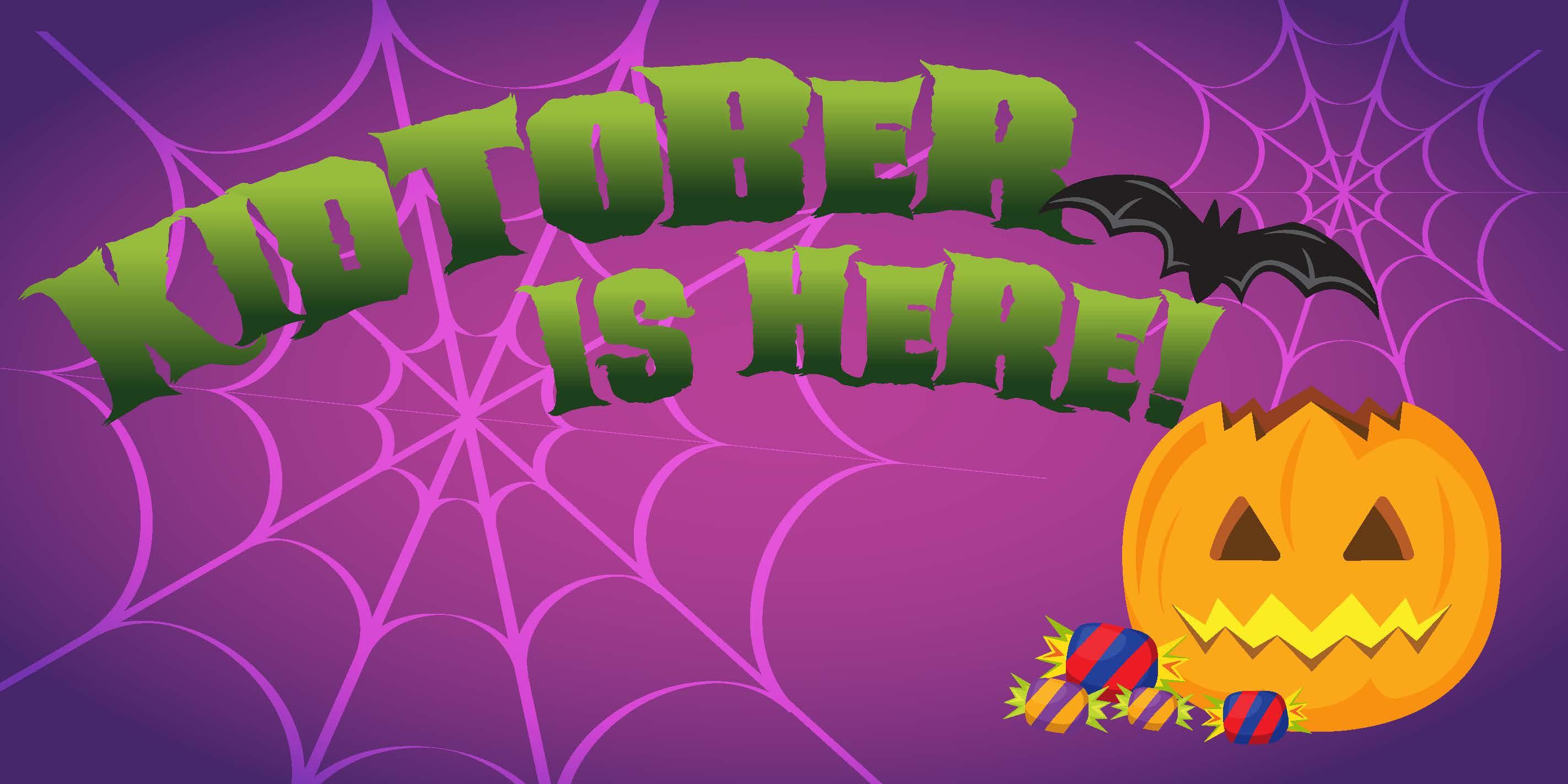 Kidtober Web Graphic